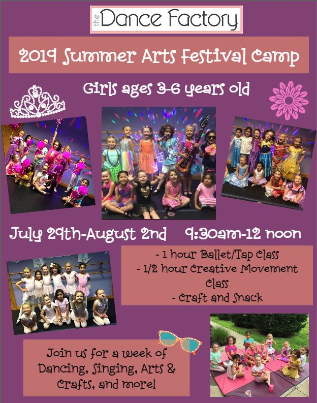 Summer Arts Festival Camp