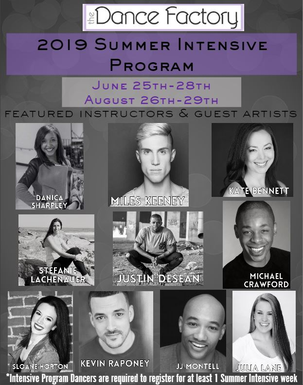 Summer Dance Intensives Camp